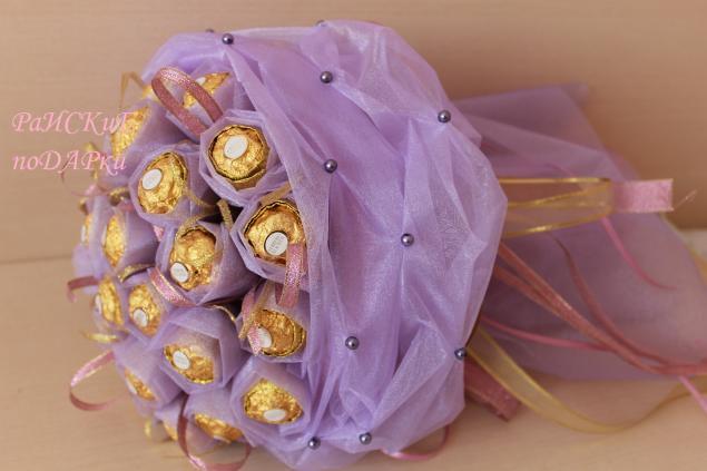 букет из конфет своими руками