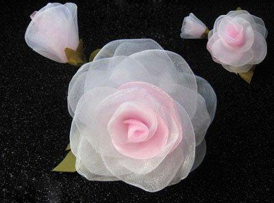 Канзаши МК роза