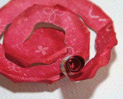 цветы розы из бумаги