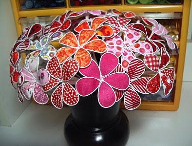 цветы из проволоки, поделки из цветов, фото поделки цветы из проволоки