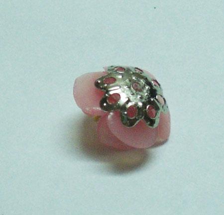 Серьги Сакура из полимерной глины