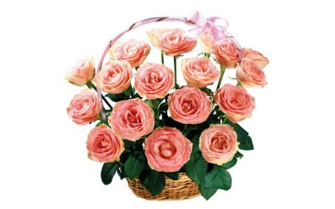 Букеты розовых роз фото