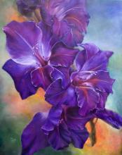 Живопись цветов: Gladiolus