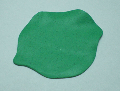 Как сделать заколку с сиренью из полимерной глины